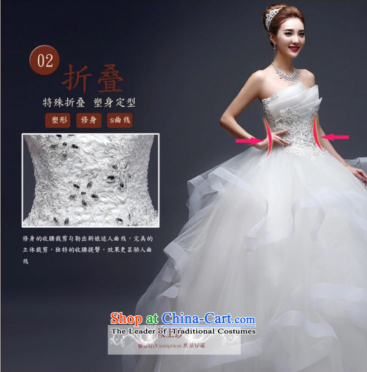 Yong-yeon and wedding dresses in spring and summer 2015 new marriages stylish anointed chest lace to align the minimalist Korean skirt WhiteM bon bon picture, prices, brand platters! The elections are supplied in the national character of distribution, so action, buy now enjoy more preferential! As soon as possible.