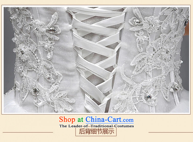 Yong-yeon and wedding dresses in spring and summer 2015 new marriages stylish anointed chest lace to align the minimalist Korean skirt White聽M bon bon picture, prices, brand platters! The elections are supplied in the national character of distribution, so action, buy now enjoy more preferential! As soon as possible.