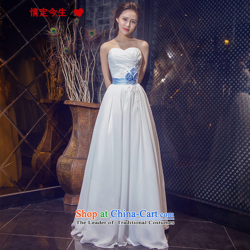 Love of the life of the new 2015 Korean anointed chest straps is simple and stylish white to align the bride video thin Foutune of wedding white?L