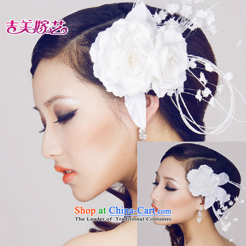 The bride wedding dresses accessories kit Korean Head Ornaments white furnishings 2015 NEW TH2032B MARRIAGE AND FLOWER WHITE