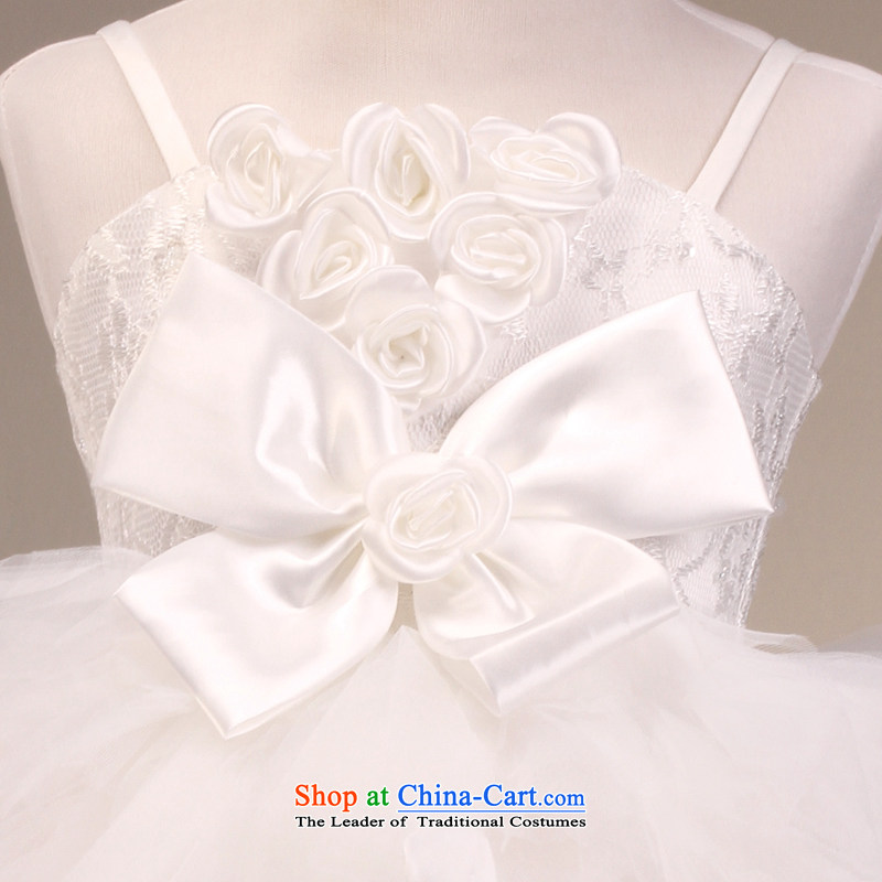 The lifting strap is sweet mslover bon bon skirt girls princess skirt children dance performances to dress wedding dress Flower Girls dress 7,005 m White 14 yards, name of Lisa (MSLOVER) , , , shopping on the Internet