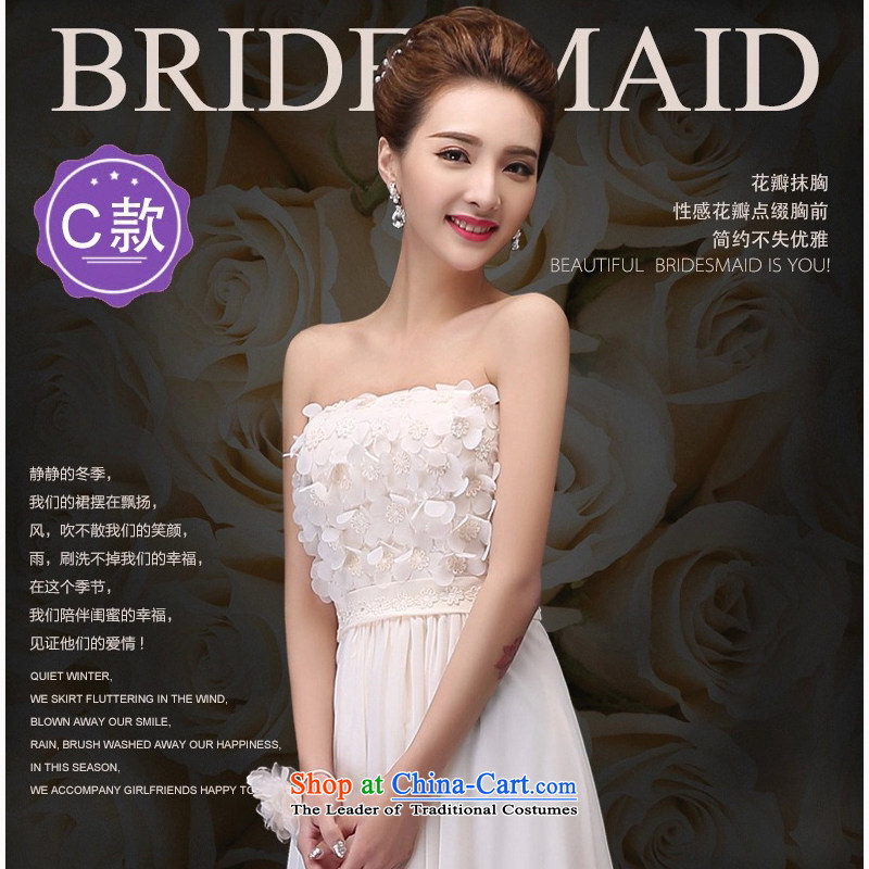 The Korean version of the 2015 Summer lace bridesmaid mission dress long strap bridesmaid sister skirt will serve?C L