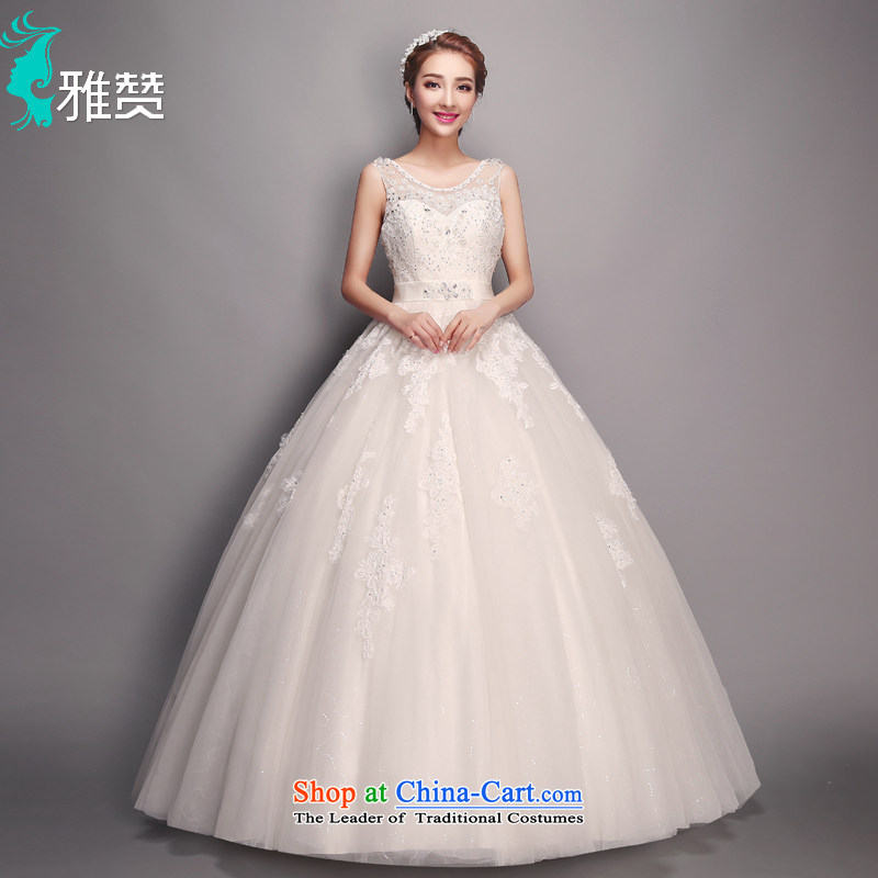 Jacob Chan 2015 Korean wedding marriages shoulders Top Loin of pregnant women new summer fluoroscopy back alignment to go  yarn bon bon skirt White?M
