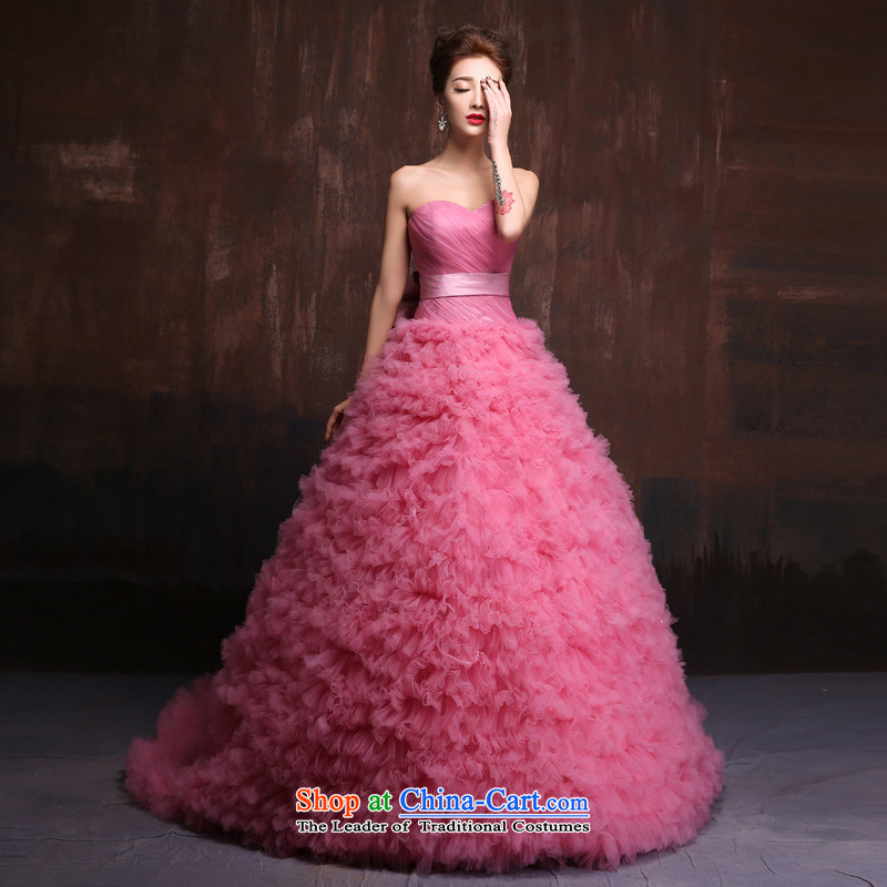 Sin Sin Kai Edge 2015 new sumptuous wedding dresses Korean long tail Evening Dress Photography subject samples wedding usual zongzi toner custom
