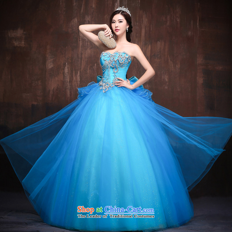 Sin Sin Kai Edge 2015 New Wedding Dresses Korean Version Of Crystal