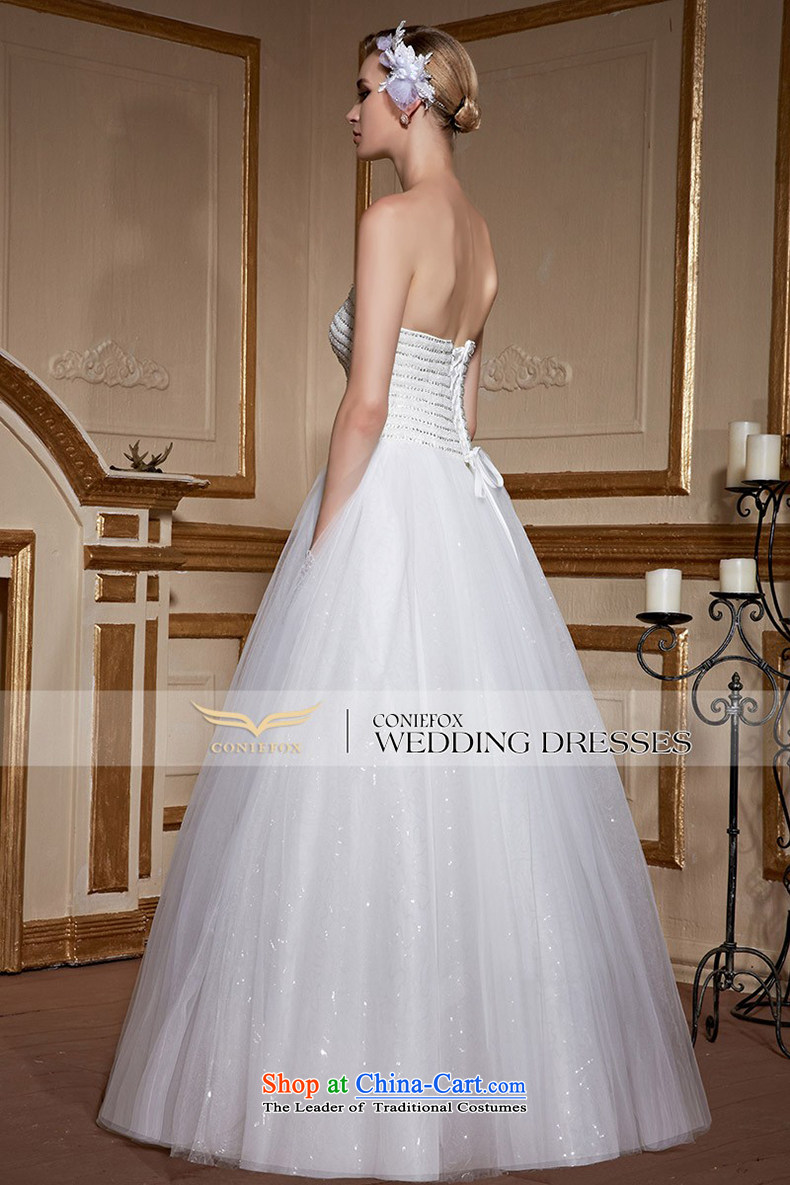 Wipe the white fox chest creative diamond wedding dress bride to align the wedding stylish and simple marriage wedding Sau San tie tailored wedding 99050 tailored white picture, prices, brand platters! The elections are supplied in the national character of distribution, so action, buy now enjoy more preferential! As soon as possible.