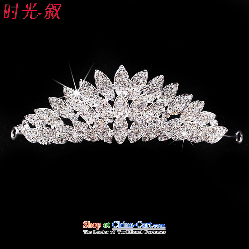 The Syrian brides head-dress hour three kit Korean marriage ceremony clothing accessories for yarn jewelry hair accessories crown necklace earrings wedding accessories crown