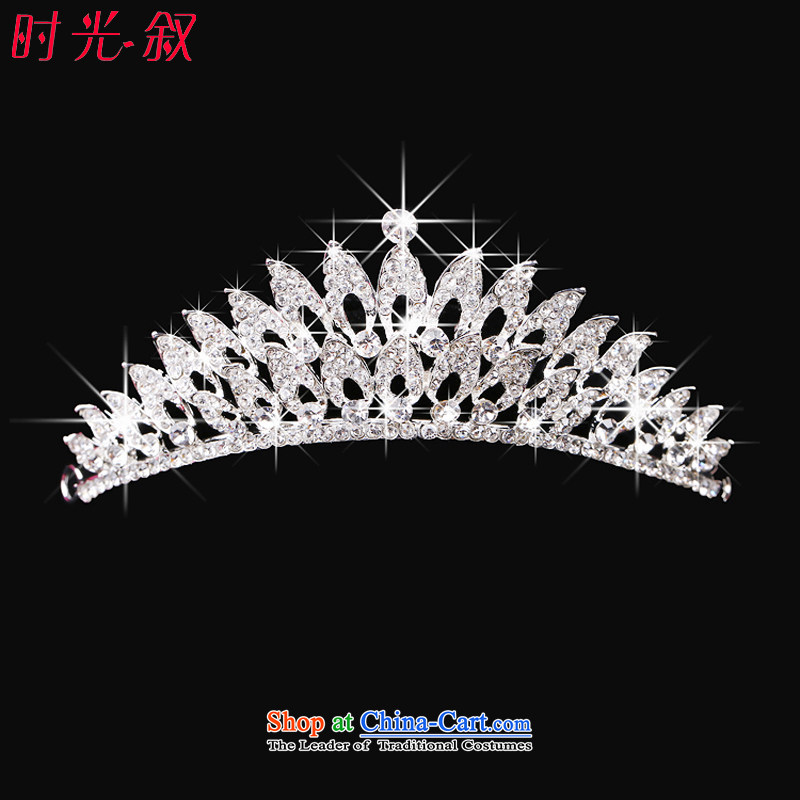 The Syrian brides crown head hour jewelry Korean hairbands marriage wedding dresses accessories hair accessories jewelry red necklace three Kit Crown