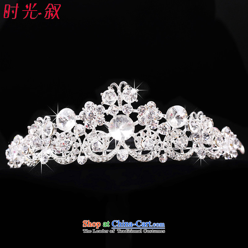 The Syrian brides head-dress Hour Pack 3-piece set marriage jewelry wedding crown necklace Korean style wedding accessories, Japan and the rok sweet crown