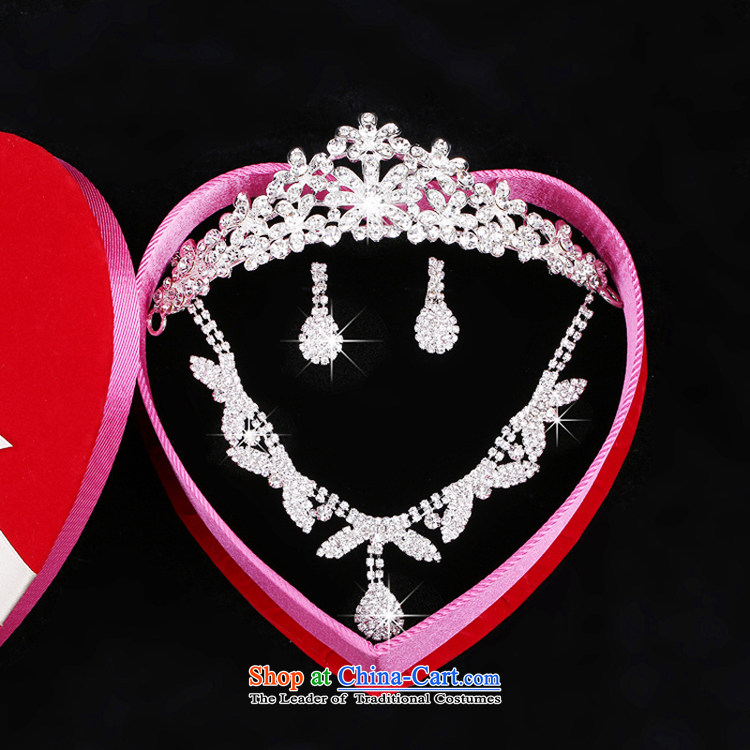 The Syrian brides time ornaments three kit crystal diamond necklace crown earrings headdress wedding Jewelry marry yarn accessories Gift Box 3-piece set picture, prices, brand platters! The elections are supplied in the national character of distribution, so action, buy now enjoy more preferential! As soon as possible.
