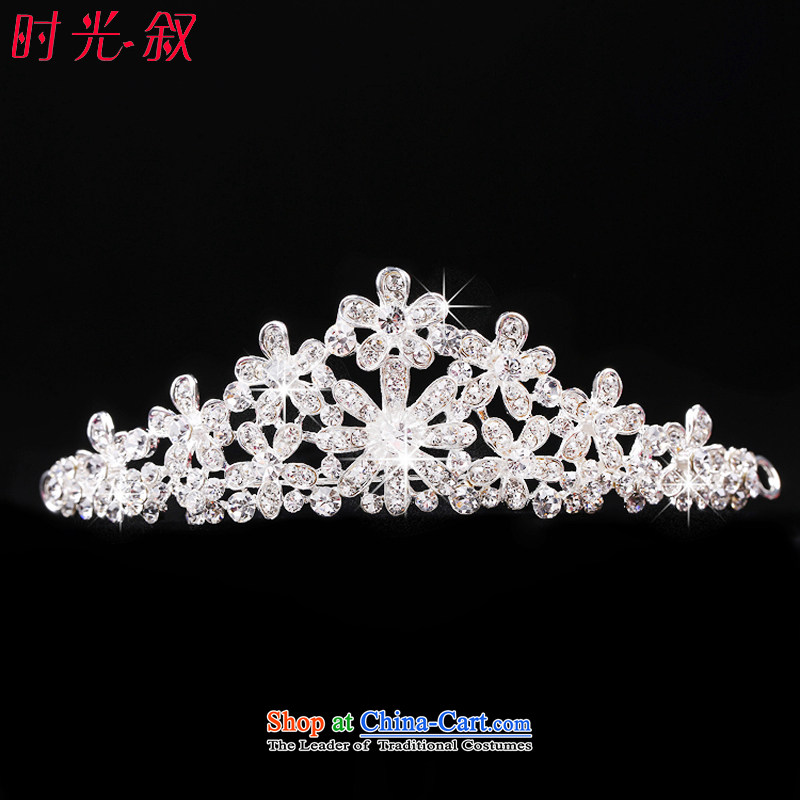 The Syrian brides head-dress hour three kit Korean style wedding Jewelry Ornaments yarn hair accessories crown necklace earrings wedding dresses accessories crown