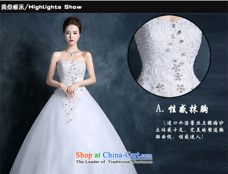 Xin Qi 2015 Autumn wedding dresses new bride flowers lace straps Korean Princess minimalist wiping the chest to weddingpictures, price white S platters, brand! The elections are supplied in the national character of distribution, so action, buy now enjoy more preferential! As soon as possible.