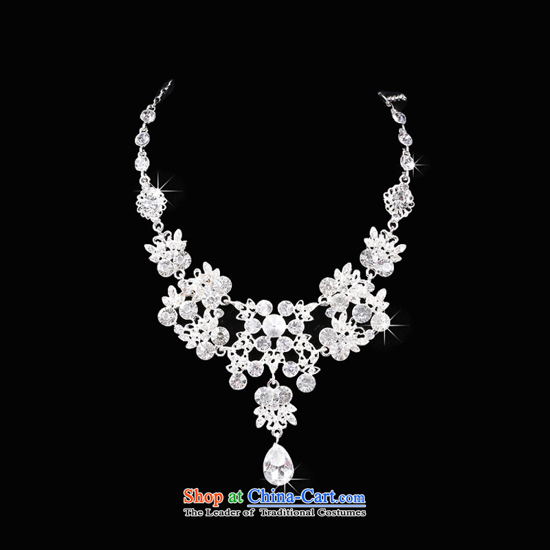Time Syrian Korean marriages jewelry sets of jewelry and ornaments crown necklace earrings three piece wedding gift Accessories Kits, Syria has been pressed time shopping on the Internet