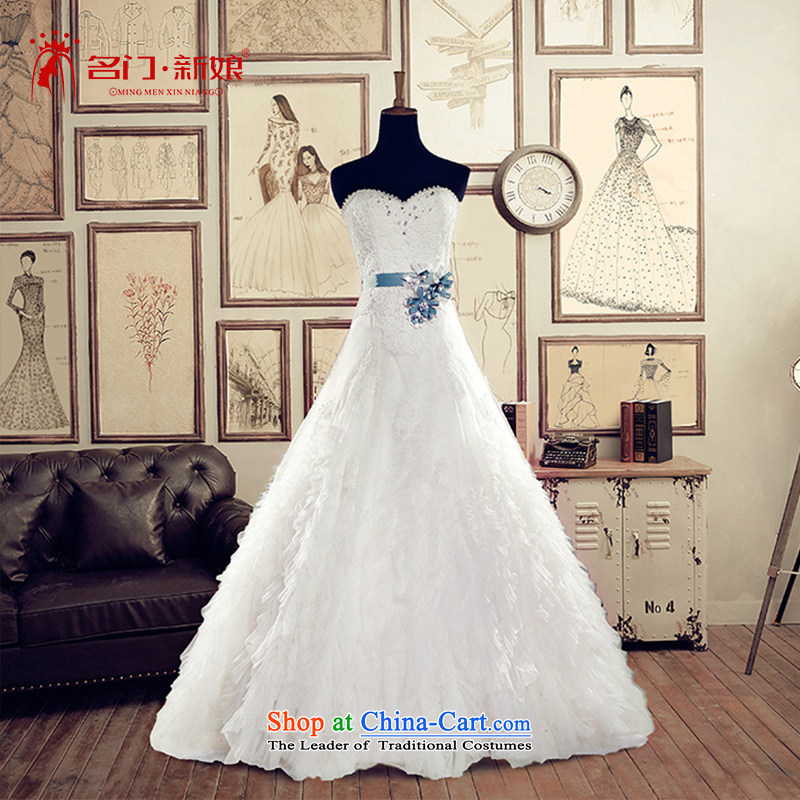 A Bride wedding dresses 2015 Summer anointed chest to wedding 2598 White DZ tailored plus 20%