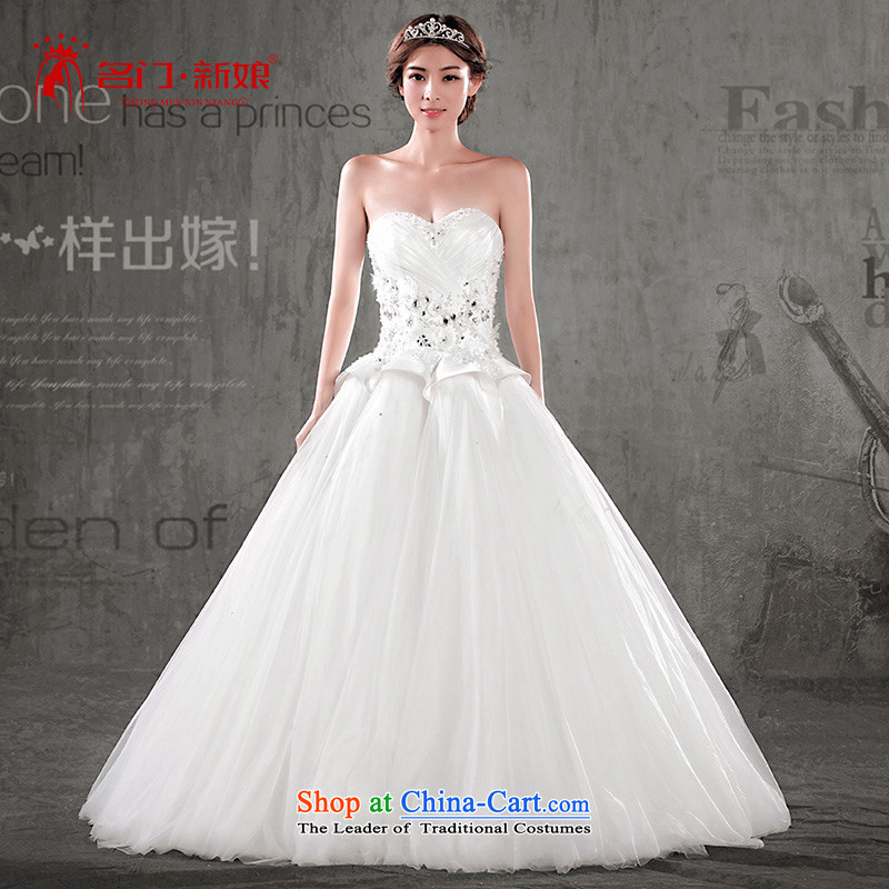 A Bride wedding dresses聽2015 Summer anointed chest to wedding聽 2629聽White聽XL