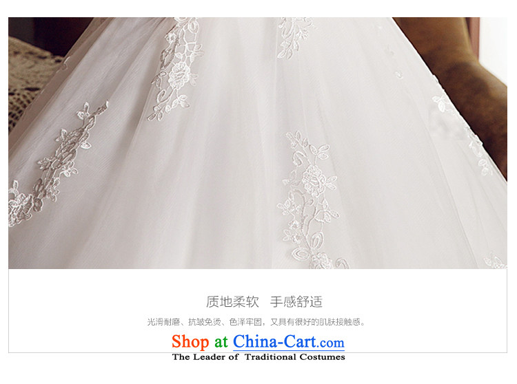M Card Gardenia Wedding 2015 new summer marriages long tail and chest Korean brides wedding dresses ivory L picture, prices, brand platters! The elections are supplied in the national character of distribution, so action, buy now enjoy more preferential! As soon as possible.