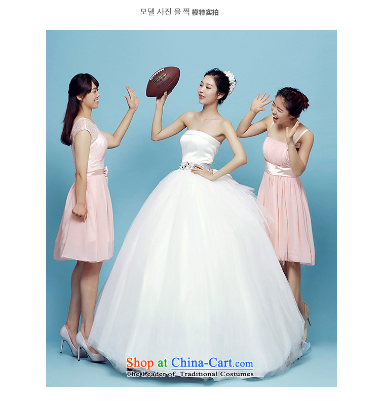 M card, Bridal Suite 2015 summer to align the minimalist wedding dress bon bon anointed chest Korean marriages wedding dresses ivory S picture, prices, brand platters! The elections are supplied in the national character of distribution, so action, buy now enjoy more preferential! As soon as possible.