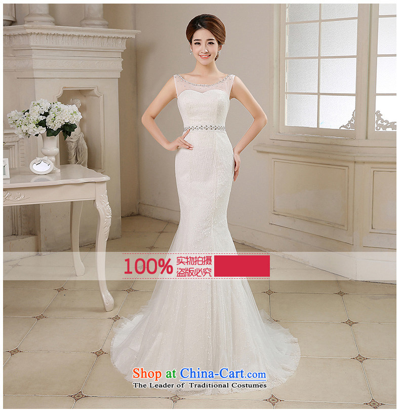 Time of autumn and winter 2015 Syria at the wedding dress shoulders crowsfoot small trailing wedding dresses new bride sexy anointed chest marriage Sau San wedding female video thin white XL Photo, prices, brand platters! The elections are supplied in the national character of distribution, so action, buy now enjoy more preferential! As soon as possible.