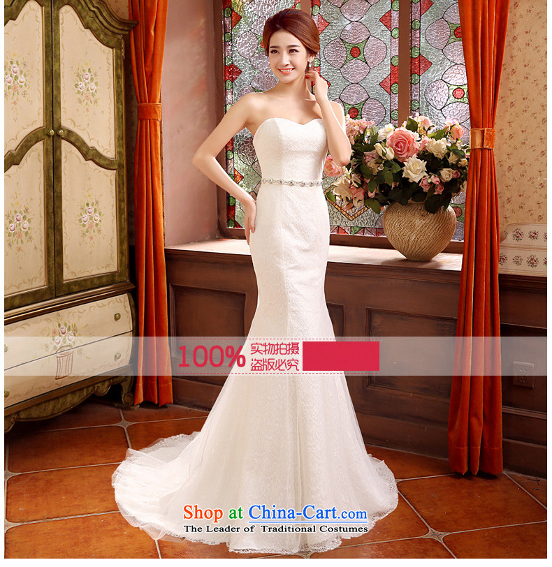 Time of autumn and winter 2015 Syria at the wedding dress wiping the chest crowsfoot small trailing wedding dresses new bride sexy marriage Sau San wedding female video thin white L picture, prices, brand platters! The elections are supplied in the national character of distribution, so action, buy now enjoy more preferential! As soon as possible.