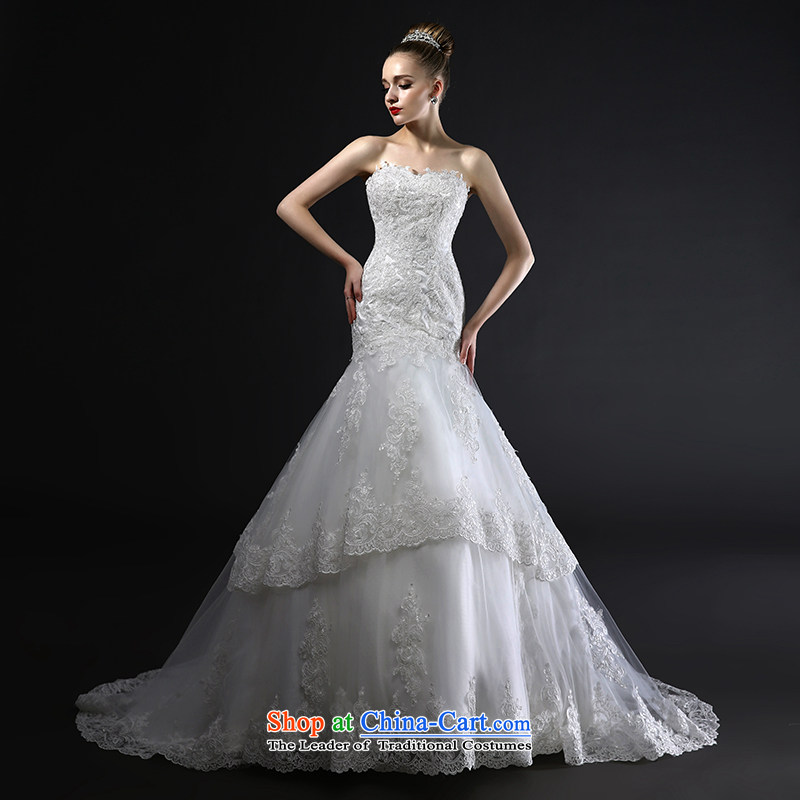 Mr model wedding quality custom?2015 new wiping the small tail and chest wall crowsfoot straps Foutune of video thin Lace Embroidery wedding tailor the?35-day delivery