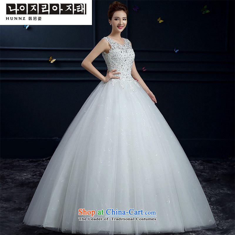 The new 2015 hannizi spring and summer Korean word stylish shoulder straps shoulders to align the Sau San bride wedding WhiteM Won, Gigi Lai (hannizi) , , , shopping on the Internet