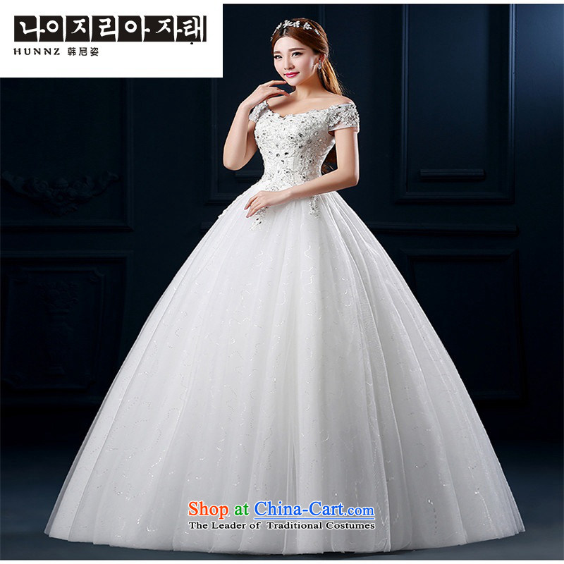2015 hannizi lace a new field to align the shoulder large thin stylish graphics spring and summer strap diamond bride wedding white聽L