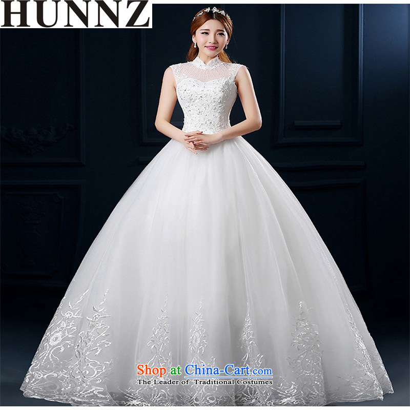 �  �The word HUNNZ shoulder the new Spring/Summer 2015 Korean fashion lace retro simple graphics thin large bride wedding White�XXL