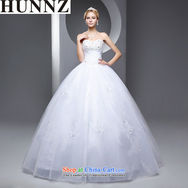 ?   ?New stylish HUNNZ 2015 Spring_Summer straps and chest code minimalist white brides Sau San Wedding White?XL