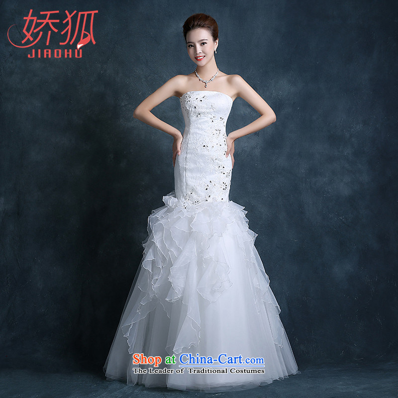 To Fox new sweet and 2015 chest lace minimalist wedding packages and small tail crowsfoot wedding band video thin White?XXL Sau San
