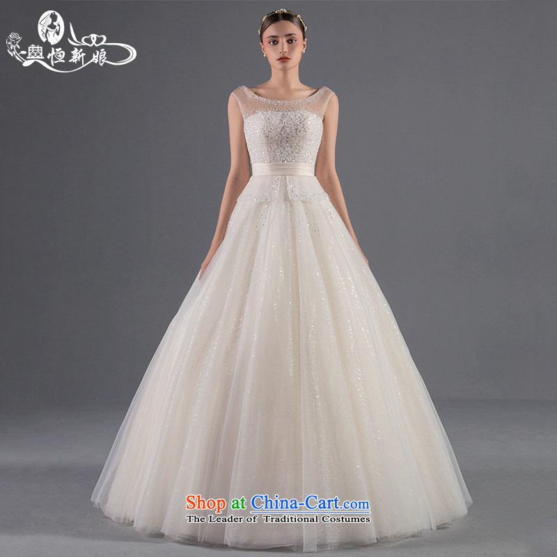 Noritsune bride Wedding 2015 Summer new women's on-chip is simple and stylish to align A swing wedding video thin wedding dress code can be customized on the drilling champagne color luxury�S