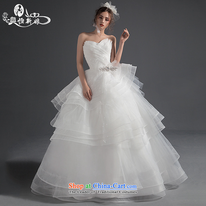Noritsune bride Wedding 2015 Summer new wedding dress with stylish wiping the chest to pregnant women wedding code female Custom Level Bright White gauze M noritsune bride shopping on the Internet has been pressed.