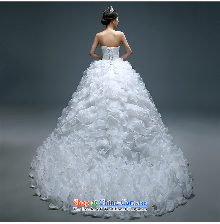 Name of the new 2015 hannizi spring and summer large stylish integrated graphics thin with Sau San continental bon bon skirt bride wedding White M pictures, prices, brand platters! The elections are supplied in the national character of distribution, so action, buy now enjoy more preferential! As soon as possible.