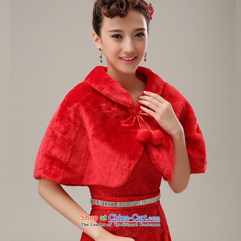 Embroidered brides is Winter Sweater shawl stylish bride cloak red, gross shawl embroidered bride shopping on the Internet has been pressed.