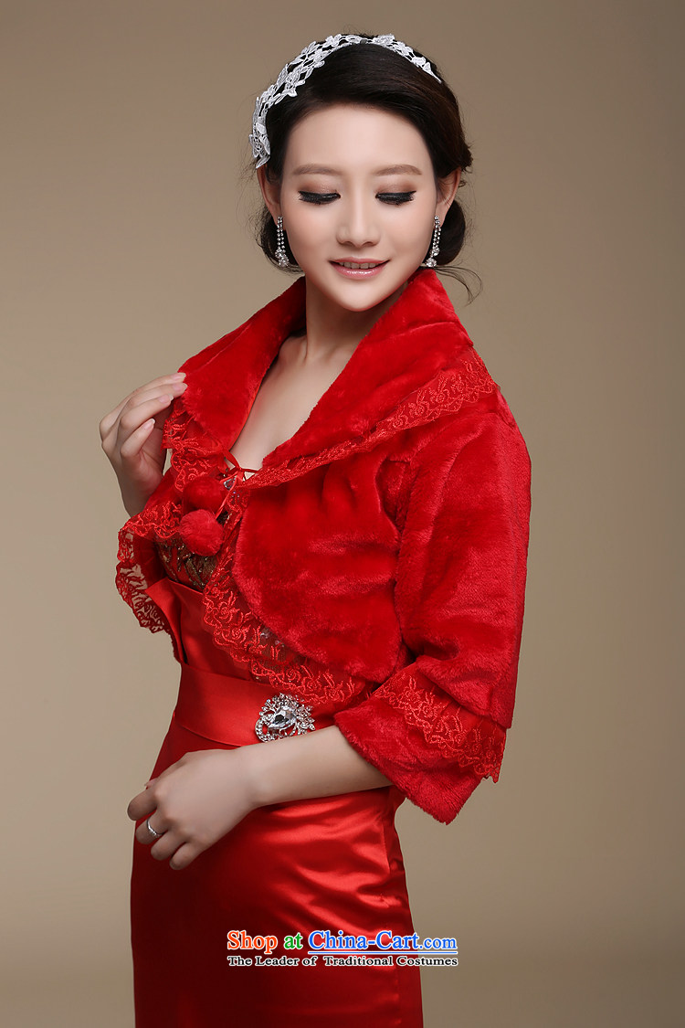 Embroidered is the new bride bride 2014 shawl marriage shawl lace gross ball roll collar short-sleeved gross shawl in large red red picture, prices, brand platters! The elections are supplied in the national character of distribution, so action, buy now enjoy more preferential! As soon as possible.