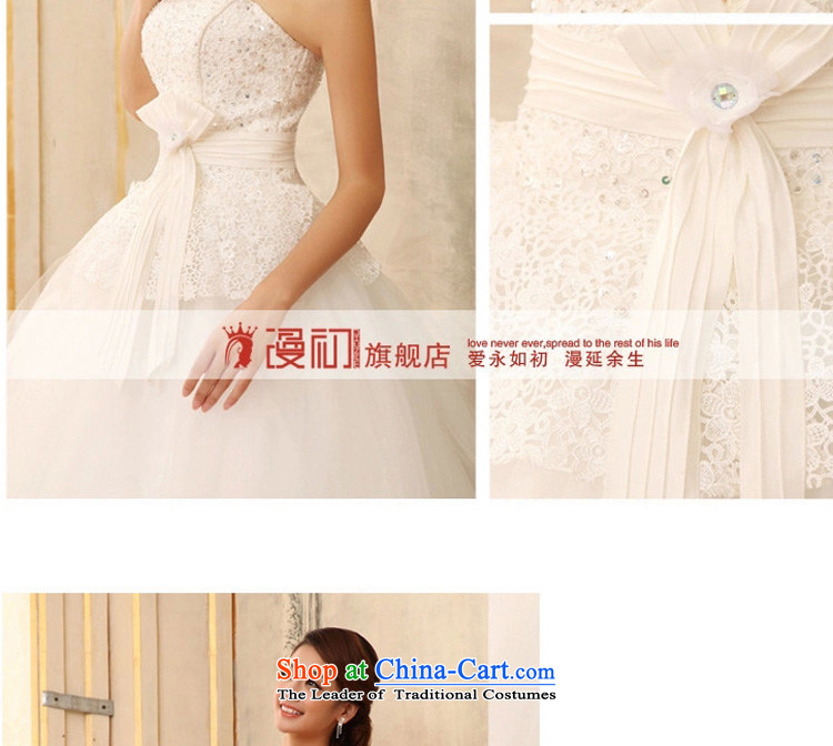 In the early 2015 new man anointed chest bon bon skirt wedding water-soluble lace marriages to align the strap White XXL wedding pictures, prices, brand platters! The elections are supplied in the national character of distribution, so action, buy now enjoy more preferential! As soon as possible.