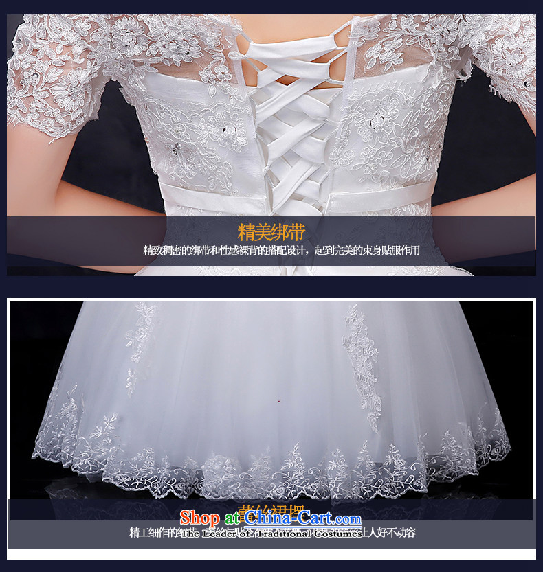 Summer 2015 new Korean word lace shoulder larger video thin bride align to bind with the marriage wedding dress White XXL picture, prices, brand platters! The elections are supplied in the national character of distribution, so action, buy now enjoy more preferential! As soon as possible.