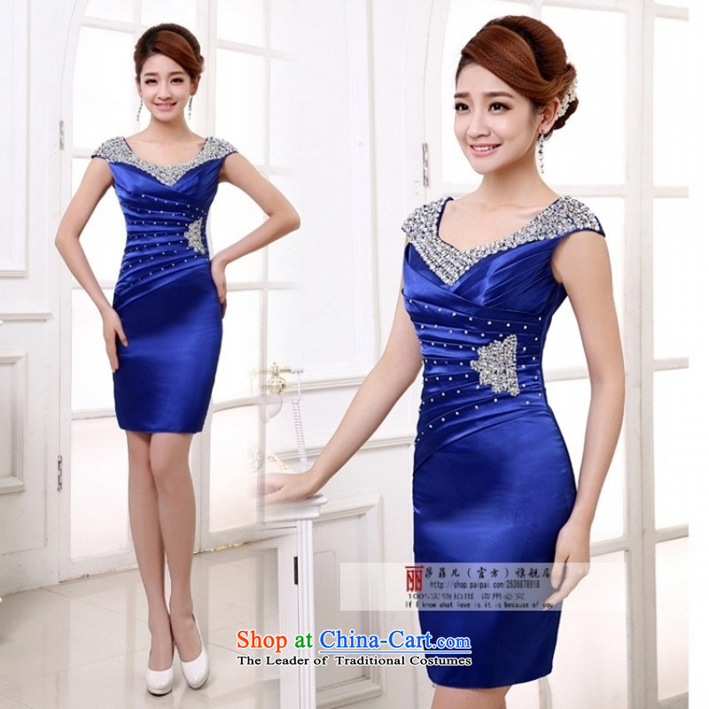 Wedding dress qipao breakpoint decode processing zone new this link wedding compartment has an?M package returning blue