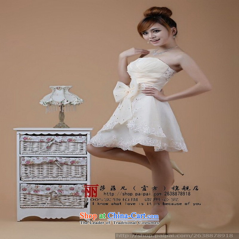 Lisa Philip Yung Ching compartment break bride wedding dresses qipao excluding costs a limited number of hot sales needs to get well?S champagne friends bubble yarn