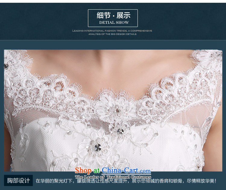 Martin Taylor wedding dress the summer and autumn of 2015 the new Korean minimalist shoulders to align graphics thin marriages a field shoulder wedding female white (sent three kit) L picture, prices, brand platters! The elections are supplied in the national character of distribution, so action, buy now enjoy more preferential! As soon as possible.