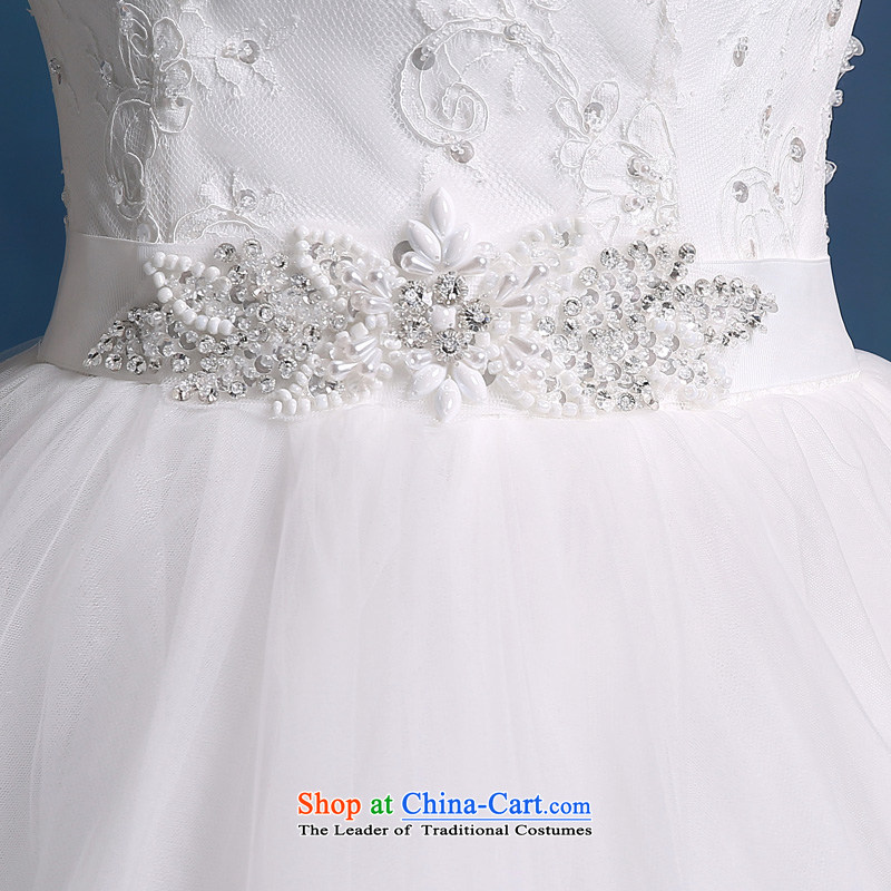 Martin Taylor wedding dress the summer and autumn of 2015 the new Korean minimalist shoulders to align graphics thin marriages a field shoulder wedding female white (sent three kit), L (TAILEMARTIN Martin Taylor) , , , shopping on the Internet