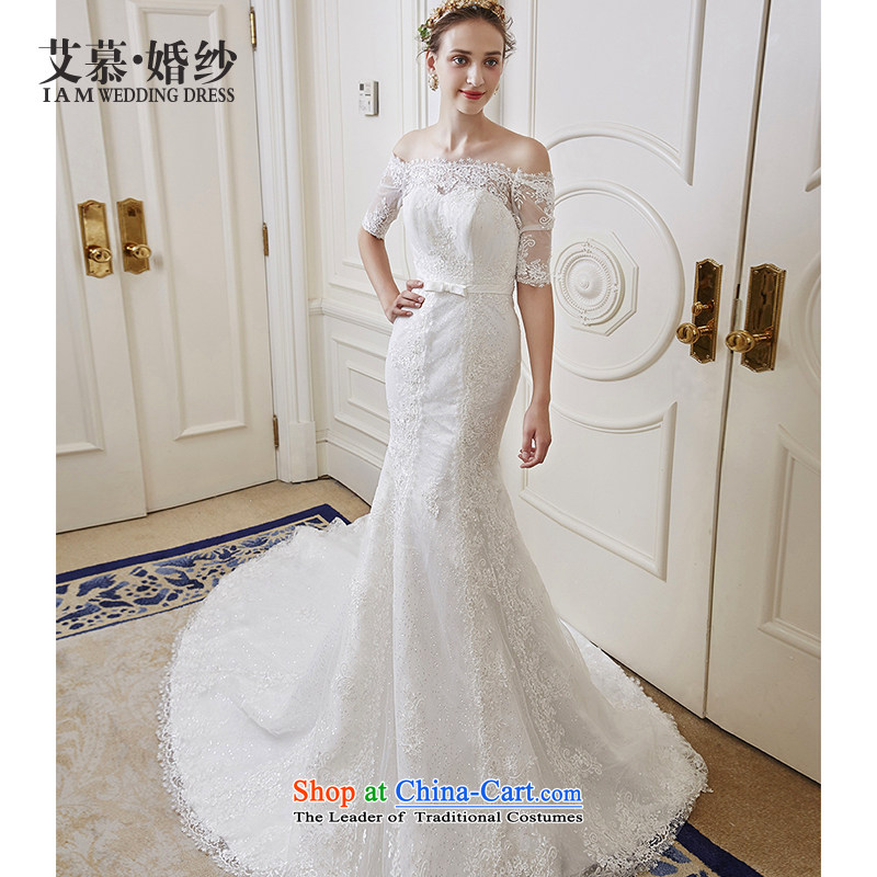 The wedding dresses HIV New Word 2015 Aviles 'dshoulder lace in cuff crowsfoot wedding minimalist version?L