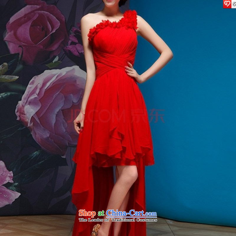 Break clearance of the cost. The new bride wedding dresses cheongsam wedding photography subject wedding dresses?S red with a