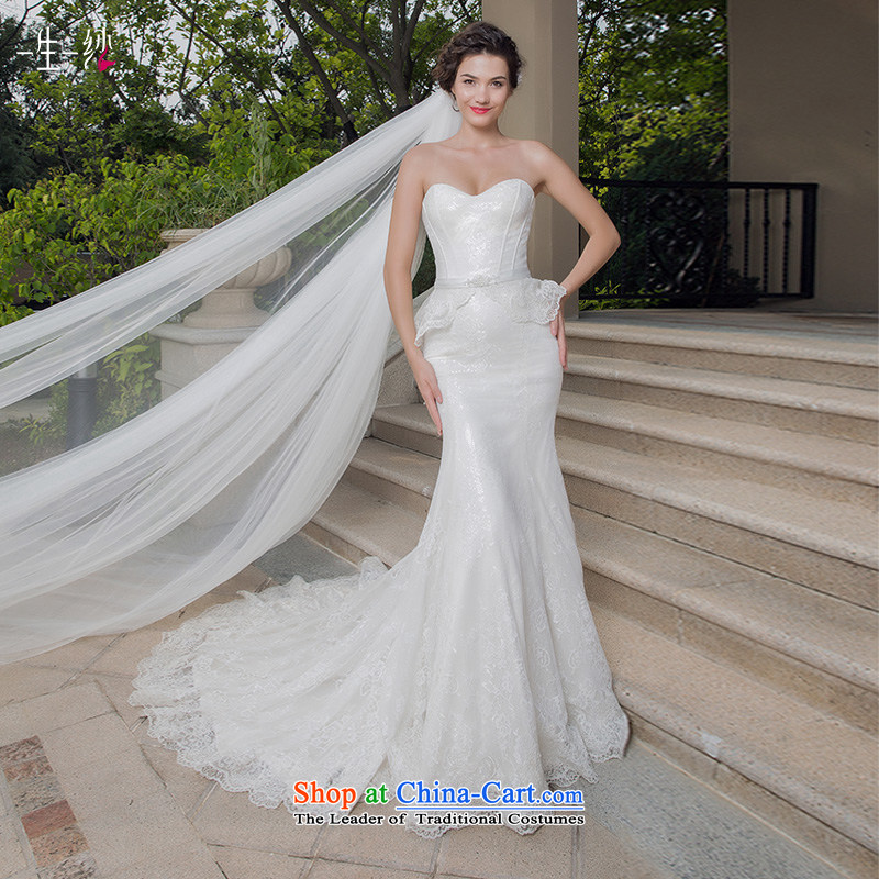 Flying Snow Yao Jing Dong fell in love with the same ultra-template star wedding 2015 new anointed chest crowsfoot wedding video thin white?155/82A autumn 402501208 30 days pre-sale