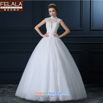 Ferrara wedding dresses long-sleeved slotted shoulder lace marriages ...