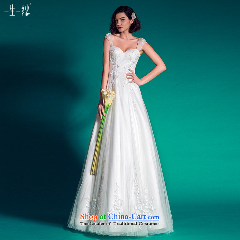A lifetime of shoulders wedding removable wedding to align the minimalist Korea high-rise white?165_90A 501501456 30 days of pre-sale