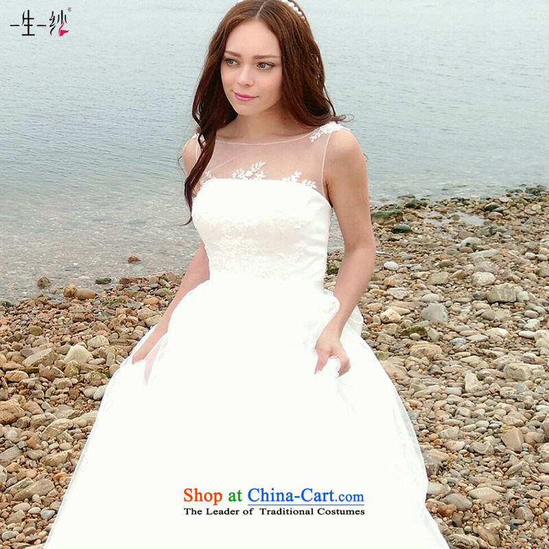 2015 new diamond wipe out of alignment with chest video thin sexy bon bon skirt wedding dresses adjustable shoulder strap 401401403 lace white 170/92A 30 days pre-sale