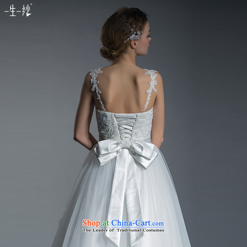 2015 new diamond wipe out of alignment with chest video thin sexy bon bon skirt wedding dresses adjustable shoulder strap 401401403 lace white170/92A 30 days pre-sale, a Lifetime yarn , , , shopping on the Internet