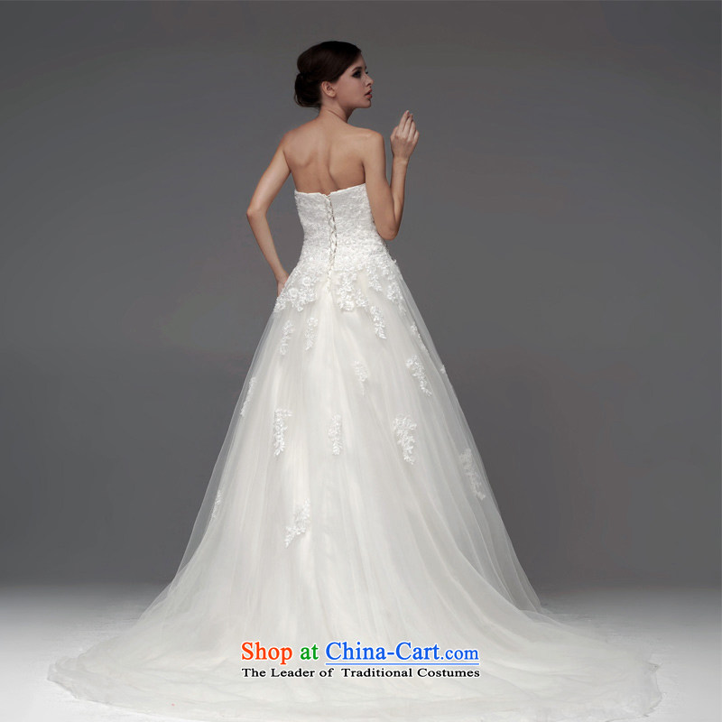 A lifetime of 2015 New wedding dresses lace anointed chest lace Foutune of thin A skirt graphics to align the wedding NW0708  165/90A white 30 days pre-sale, a Lifetime yarn , , , shopping on the Internet