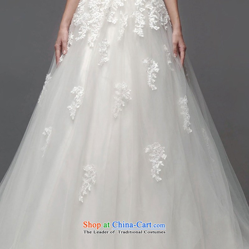 A lifetime of 2015 New wedding dresses lace anointed chest lace Foutune of thin A skirt graphics to align the weddingNW0708165/90A white 30 days pre-sale, a Lifetime yarn , , , shopping on the Internet
