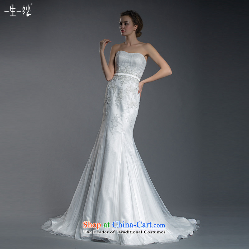 A lifetime of 2015 New Princess lace a field shoulder two wearing wedding crowsfoot wedding tail removable shawl?401501402??30 Day White 160/84A pre-sale
